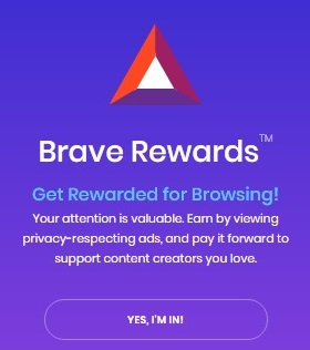 brave create wallet
