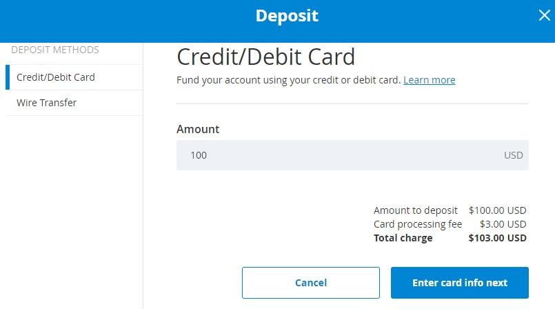 buy bitcoin with visa card