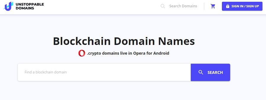 buy blockchain domain names