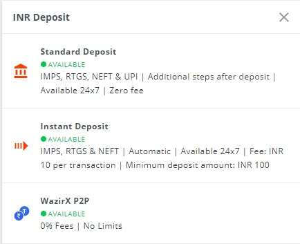 buy btc wazirx inr deposit