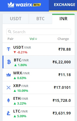 buy bitcoin wazirx 5